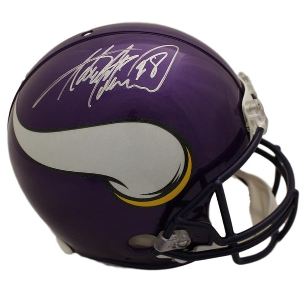Shop Adrian Peterson Autographed Minnesota Vikings Proline Helmet BAS -  Free Shipping Today - Overstock.com - 25684607 aec40c306