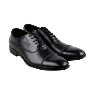 Kenneth Cole Reaction Design 20181 Mens Black Casual Dress Oxfords Shoes