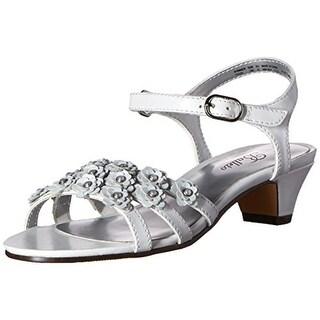 Balleto Girls Shimmer Leather Sandals