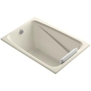 "Kohler K-1490-X Greek Collection 48"" Drop In Soaking Bath Tub - Drain Not Included"