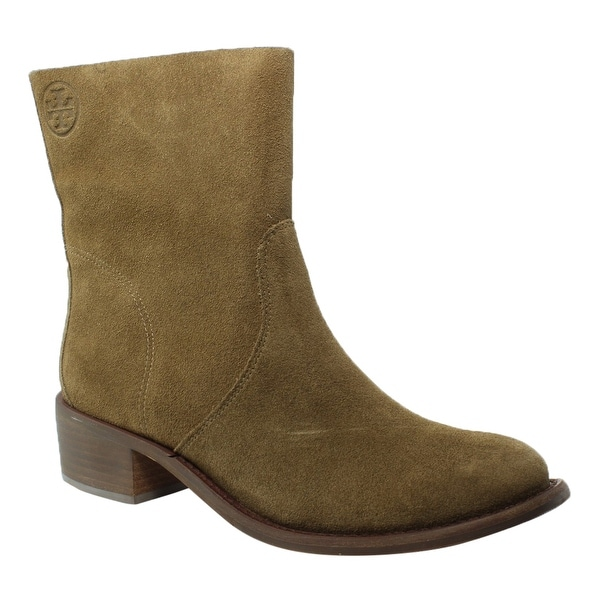 ded948291 Shop Tory Burch Womens Siena Brown Booties Size 7 - Free Shipping ...