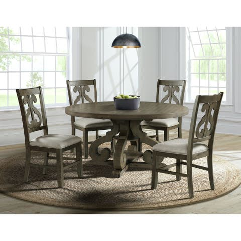 Picket House Furnishings Stanford Round Dining Table