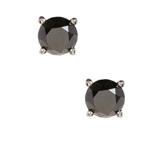 1/2 cts Black Diamond Stud