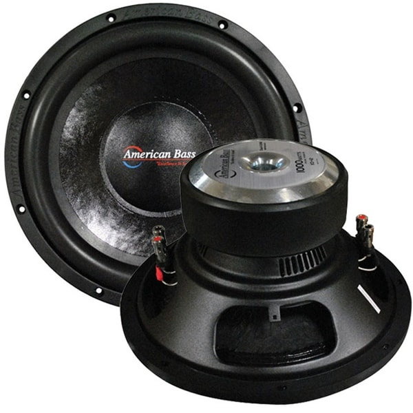 "Shop American Bass 12"" Woofer 1000W Max 4 Ohm Dvc"