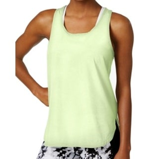 Calvin Klein NEW Yellow Women's Size Large L Quick Dry Active Tank Tops