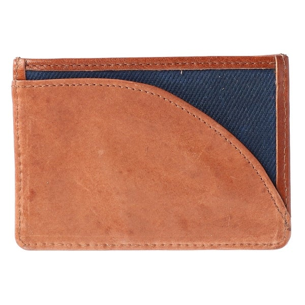 The British Belt Company Men's Langdale Waxed Twill Card Case Wallet - One size