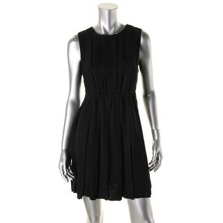 Kate Spade Womens Crepe Pleated Wear to Work Dress - 10