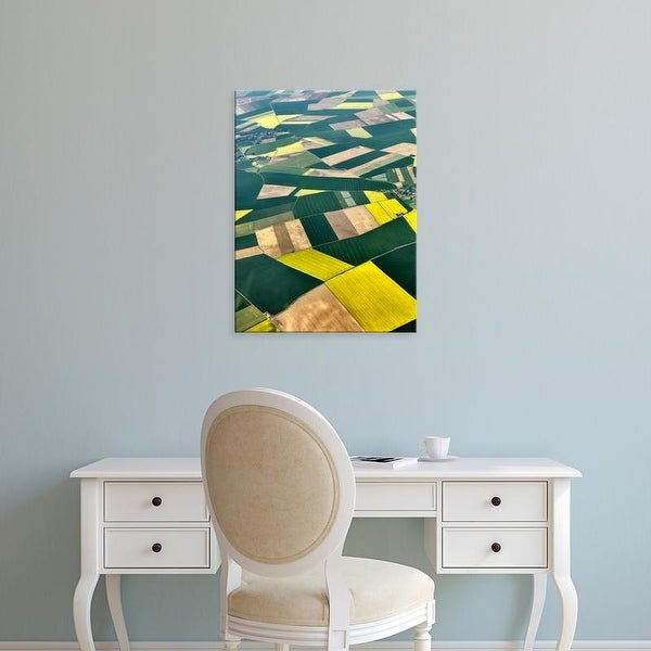 Easy Art Prints Colby Chester's 'Approaching Paris I' Premium Canvas Art