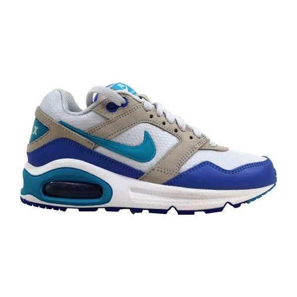 finest selection a4d8e a17a6 ... Women's Athletic Shoes. Nike Air Max Navigate Pure Platinum/Current  Blue-Blue-White Women'