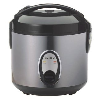Sunpentown SC-0800S 4-Cup Rice Cooker - Stainless Steel