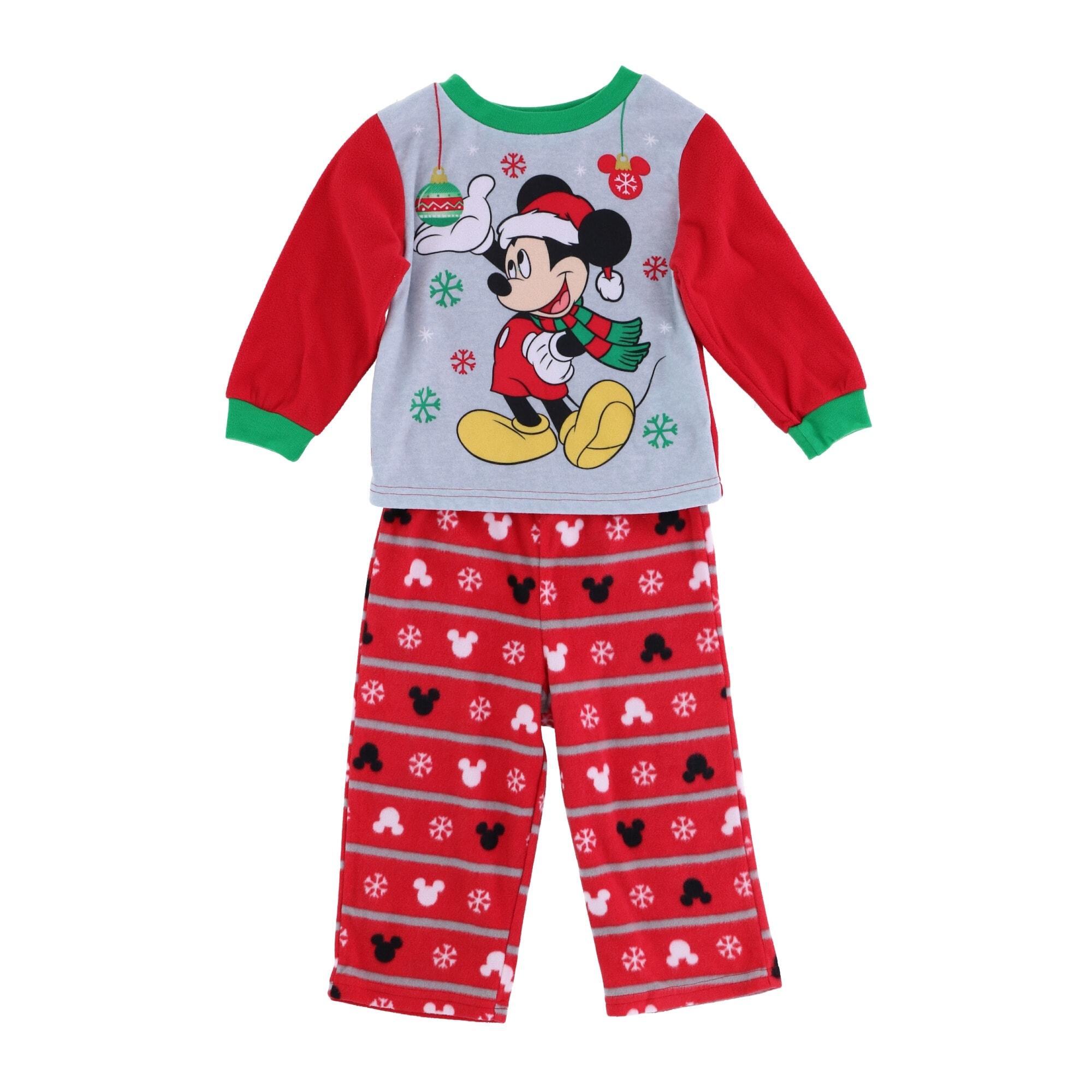 Disney Mickey Mouse two pieces pajamas sets size 3T