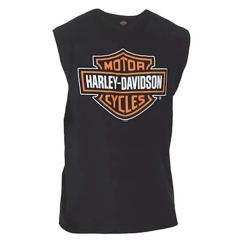 a2812d3c7 Harley-Davidson Men's Classic Bar & Shield Logo Sleeveless Muscle Tee, ...