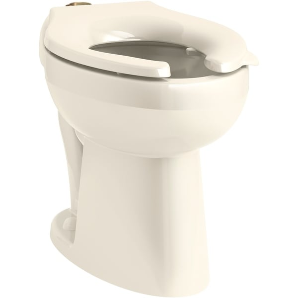Toilet Bowl ADA Compliant White Elongated Wall Hung 1.1 to 1.6 gpf