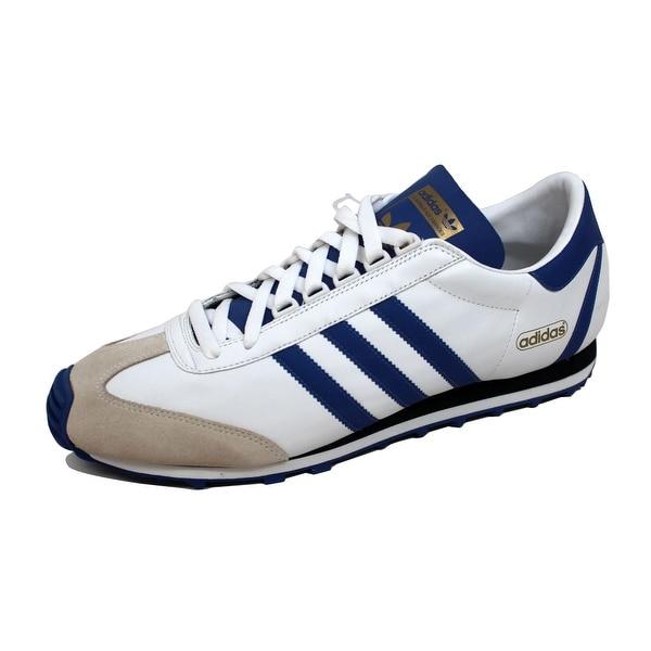 Adidas Men's Nite Jogger + White/Royal Blue 678547