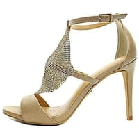 Thalia Sodi Womens Drina Open Toe Ankle Strap D-orsay Pumps