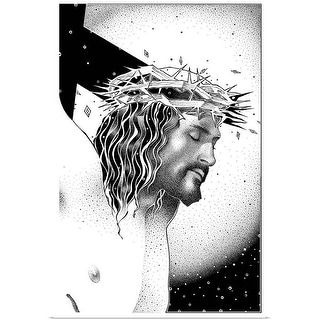 """""""The Crucifixion of Christ"""" Poster Print"""