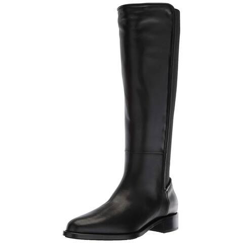 Aquatalia Womens nastia calf Leather Closed Toe Knee High Fashion Boots