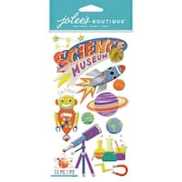 Jolee's Boutique Dimensional Stickers-Science Museum