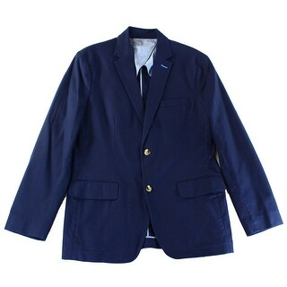 Club Room NEW Solid Navy Blue Mens Size XL Two Button Sport Coat