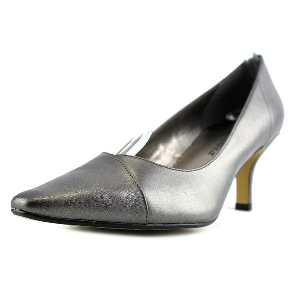 Bella Vita Wow Womens Pewter Pumps