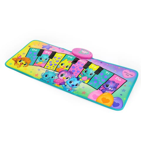 Hatchimals Interactive Piano Dance Mat with 3 Play Modes