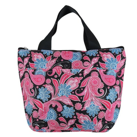 2 Moda Insulated Zippered Top Lunch Bag