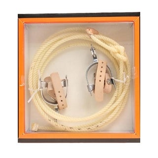 M&F Western Toy Kids Real Lasso Rope Spurs Set Child Tan