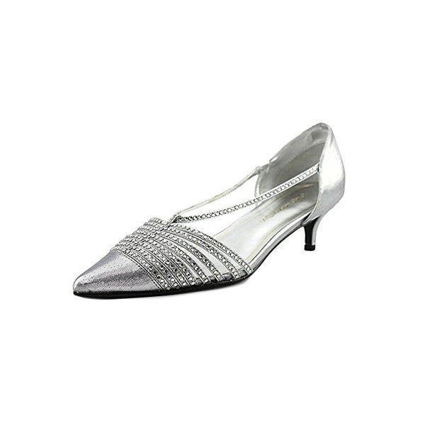 Caparros Womens Camille Evening Heels Rhinestone Pointed Toe