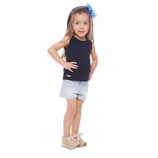 Toddler Girl Tank Top Little Girl Clothes Sleeveless Shirt Pulla Bulla 1-3 years