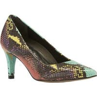 Walking Cradles Women's Sophia Pump Anaconda Multi Print PU
