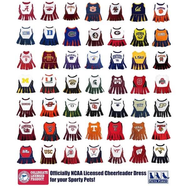 NCAA Montana State Bobcats Cheerleader Dog Dress