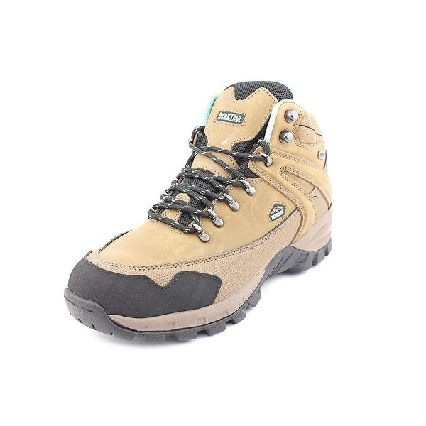 Pacific Trail Rainier Women Round Toe Leather Tan Hiking Boot