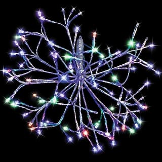 celebrations led 16shs smua christmas led shimmer sphere light multicolored 16