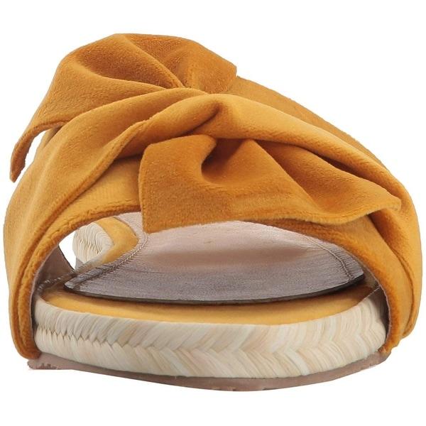 KAANAS Womens Sausalito Bow Slide Espadrille Sandal Athletic Sport Sandals  & Slides