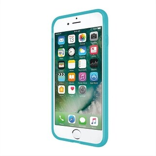 Incipio Octane Case [Shock Absorbing] Cover for Apple iPhone 8+ & iPhone 7+ - Frost/Turquoise