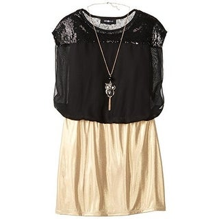 Amy Byer Girls Special Occasion Dress Sequined