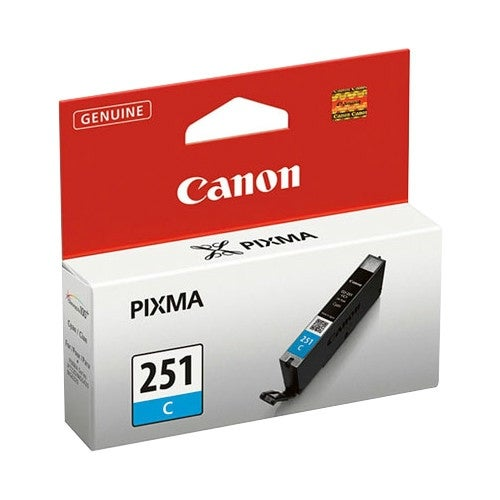 """Canon CLI-251C - C Ink Tank Canon CLI-251C Ink Cartridge - Cyan - Inkjet - Standard Yield - 304 Page - OEM"""