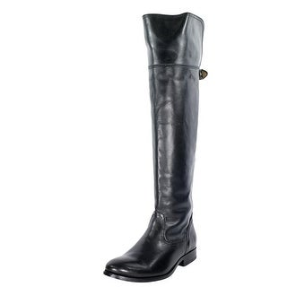 Frye Melissa OTK Boot Women Round Toe Leather Over the Knee Boot