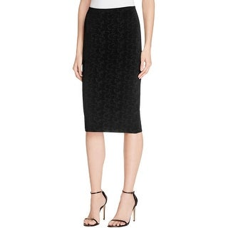 Elizabeth and James Womens Pencil Skirt Pencil Textured