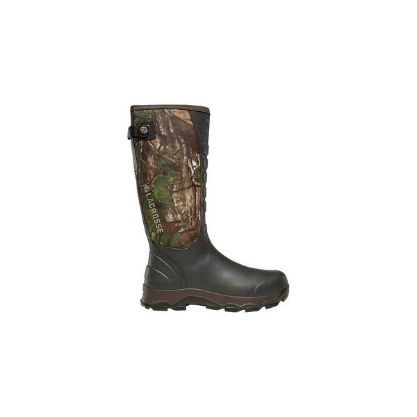 f8313e317ca Shop LaCrosse 4X Alpha Snake RealTree Xtra Green Boots With ...