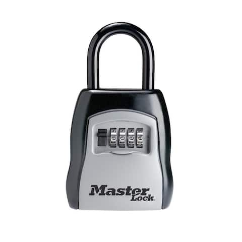 Master Lock 5400D Lock Key Storg With Shackle, Steel, Silver