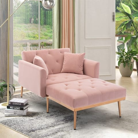 Chaise lounge accent chair