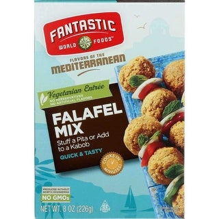 Fantastic World Foods Mix, Falafel - (Case of 6 - 8 oz)