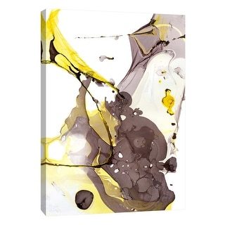 "PTM Images 9-109047  PTM Canvas Collection 10"" x 8"" - ""Nail Polish Abstract E"" Giclee Abstract Art Print on Canvas"