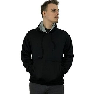 Athletic Mens Comfort Fleece Pullover Hooded Sweatshirt HD1 (3 options available)
