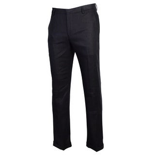 Murano By Baird McNutt Men's 100% Linen Cuffed Dress Pants