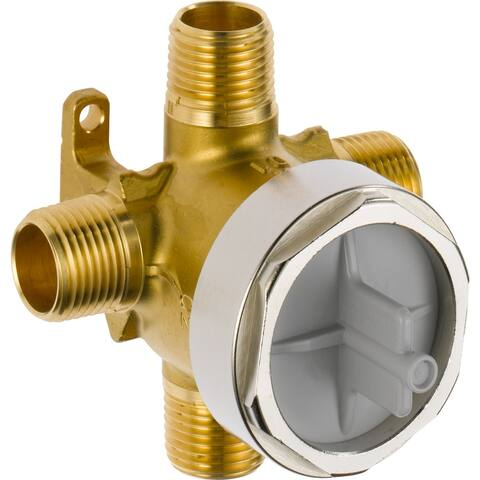 Delta R11000 Universal Diverter Rough-In Valve - For Use with All Delta 3 or 6 Function Diverter Trims
