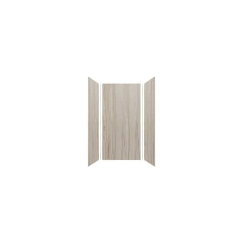 """Transolid Expressions 36-in X 36-in X 72-in Glue to Wall Shower Walls - 36"""" x 36"""" x 72"""""""