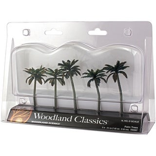 "Palm Trees 3"" To 3.75"" 5/Pkg-"