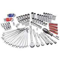 Powerbuilt 152 Piece Master Auto Mechanic's Service Tool Set - 642453